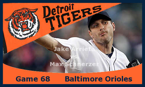 Game 2013.68: Orioles at Tigers