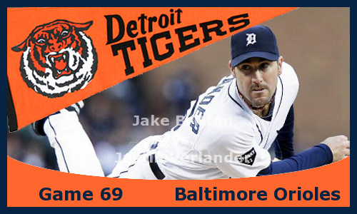 Post image for Game 2013.69: Orioles at Tigers