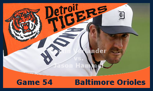 Post image for Game 2013:54: Tigers at Orioles