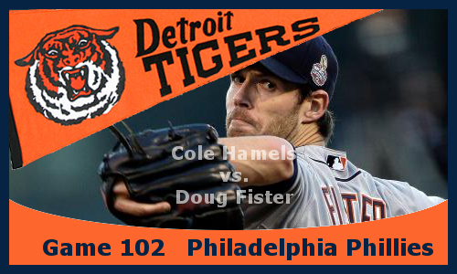 Post image for Game 2013.102: Phillies at Tigers
