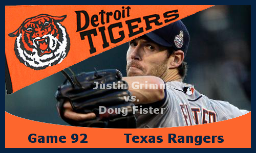 Post image for Game 2013.92: Rangers at Tigers