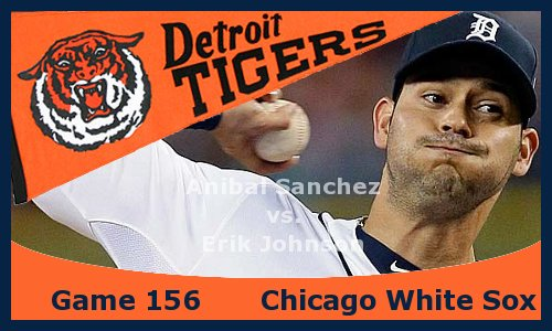 Post image for Game 2013.156: White Sox at Tigers