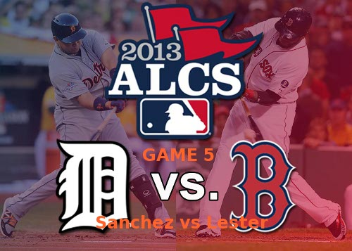 Post image for Game 2013. Playoffs 10: Red Sox at Tigers