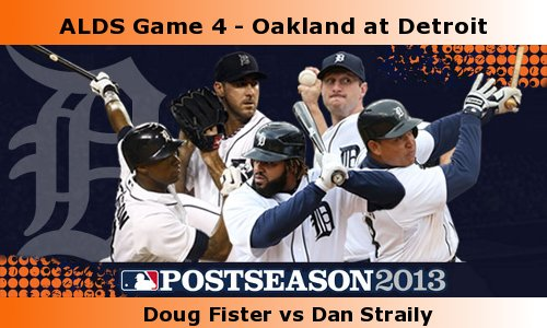 Post image for Game 2013. Playoffs 4: A's at Tigers