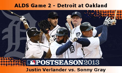 Post image for Game 2013. Playoffs 2: Tigers at A's