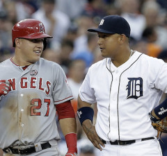 Mike Trout, Miguel Cabrera