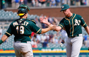 Oakland Athletics v Detroit Tigers